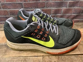NIKE Zoom Structure 18 Running Shoes Men's Size 13 Grey 683731-001 - $22.76