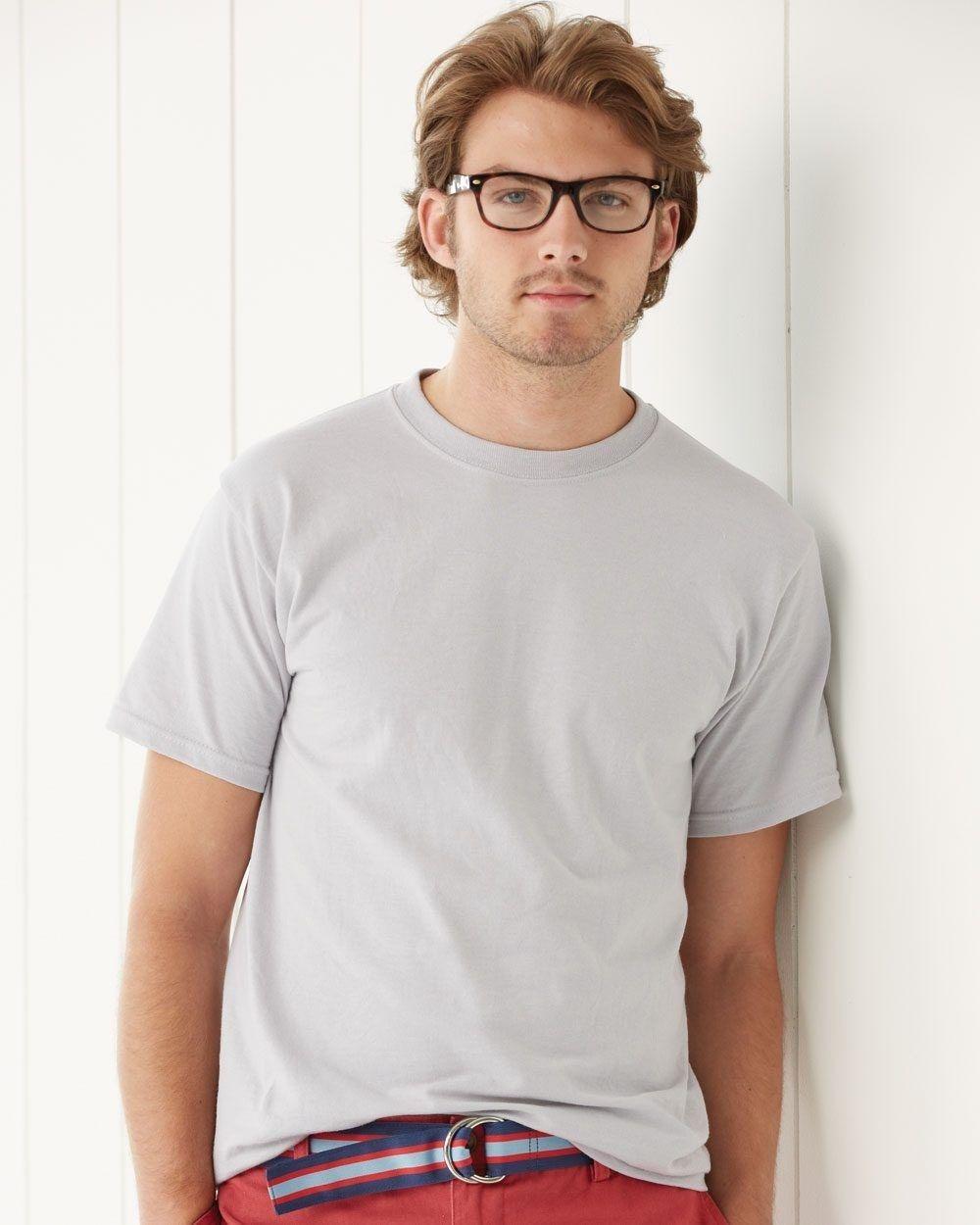 50 T-SHIRTS Blank 25 Black 25 White BULK LOT Wholesale Gildan 5000 Size: Large