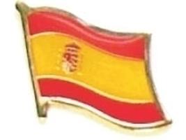 SPAIN - Wholesale lot of 12 flag hat lapel pins ef219 - $18.00