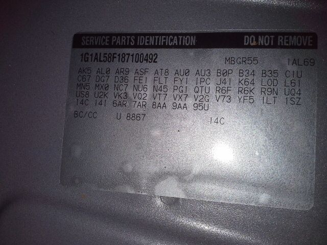 2008 Chevy Cobalt Lh Master Door Switch Left and 27 similar items