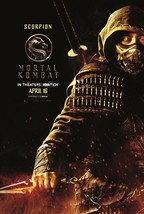 "Mortal Kombat Poster 2021 Simon McQuoid Scorpion Film Art Print 24x36"" 2... - $10.90+"