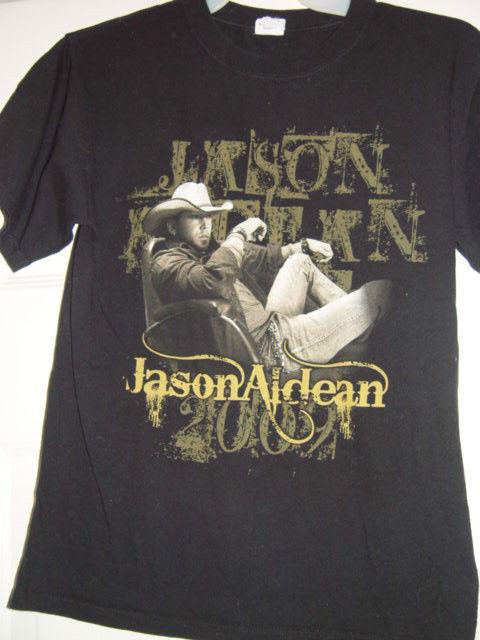 Jason Aldean 2009 2010 Tour Size Med T-Shirt