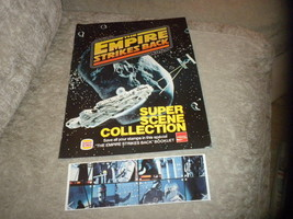 Star Wars The Empire Strikes Back Promo Fold Out w 6 Super Scene Stamps ... - $5.99