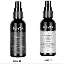 NYX  Makeup Setting Spray MSS 01 02  Matte Dewy Finish SET - $14.84