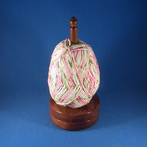 Walnut Yarn / Thread Holder - Specialty Lacquer... - $32.50