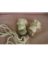 2 Spotted Cowry Shell Designer Hand Crafted Tassels South Pacific Collec... - $34.19