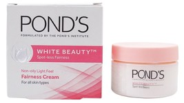 2+Pond's 50 gm  White Beauty Daily Spot-less Lightening Cream Gen White - $20.68