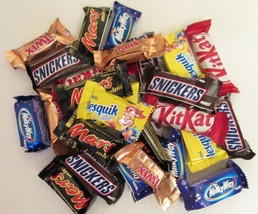 MARS, SNICKERS, TWIX and other Minis MIX chocolate candy . 454g/1 lb/16oz - $16.20
