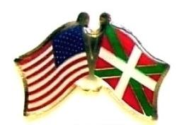 USA BASQUE LANDS - 12 WORLD FLAG FRIENDSHIP PINS ec024 - $18.00