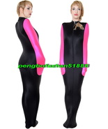 Black/Pink Lycra Sleeping Bag Mummy Suit Costumes With internal Arm Slee... - $39.99