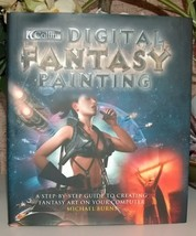 Digital Fantasy Painting by Michael Burns - $24.99