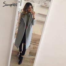 Oversize Wool Blend Winter Overcoat - $70.99+