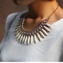 Chunky Stone Bib Necklace - $8.99