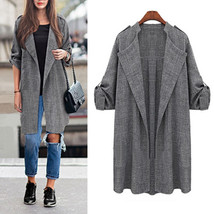 Thin Casual Lapel Cape Cardigan Coat - $29.99