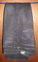 Levi's 518 Superlow Boot Cut Black Jeans Size 11 Medium 35x33 - $14.99