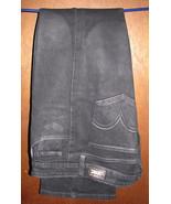 Levi's 518 Superlow Boot Cut Black Jeans Size 11 Medium 35x33 - $14.99