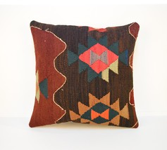 16x16'',Cushion cover,Modern decor, Colorful pi... - $16.00