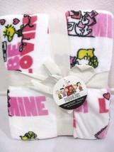 Valentine Snoopy Woodstock Peanuts by Berkshire Throw Blanket 55x70 LAST... - $44.99