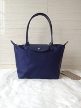 Longchamp Le Pliage Neo Small Tote Bag Navy 2605578556 Authentic - $139.00