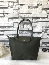 Longchamp Le Pliage Neo Small Tote Bag Khaki Green 2605578292 Authentic - $139.00