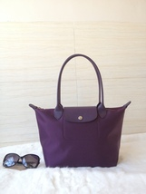 Longchamp Le Pliage Neo Small Tote Bag Bilberry 2605578645 Authentic - $139.00