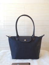 Longchamp Le Pliage Neo Small Tote Bag Graphite 2605578897 Authentic - $139.00