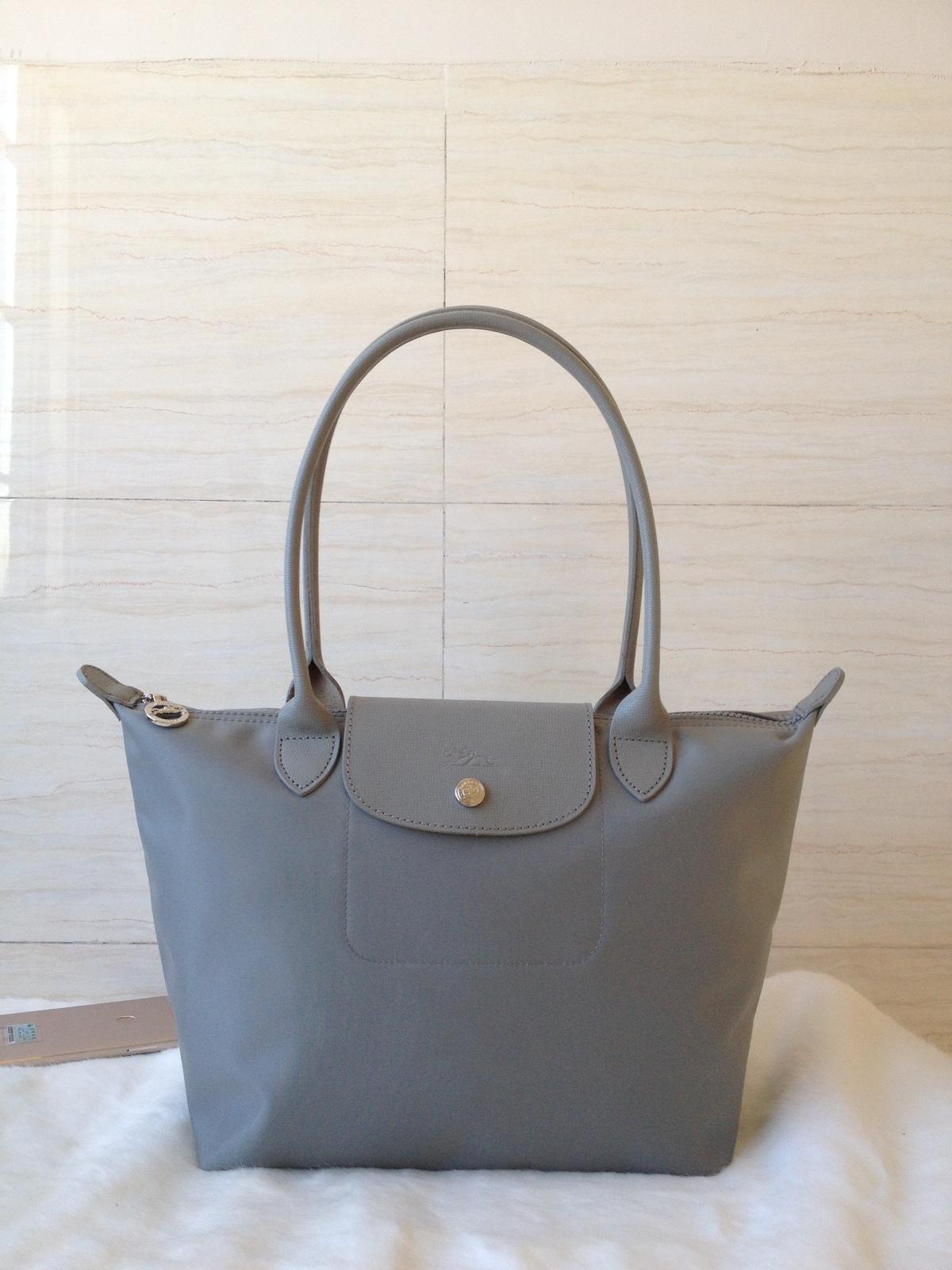 Longchamp Bag Le Pliage House Of Fraser : Longchamp le pliage neo small tote bag pebble galet