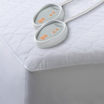 200 Thread Count Cotton Blend Heated Mattress Pad by Beautyrest - $83.11+
