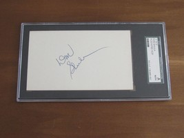 "DON SHULA HOF 97 MIAMI DOLPHINS COACH SIGNED AUTO ""GEM"" INDEX CARD SGC A... - $118.79"