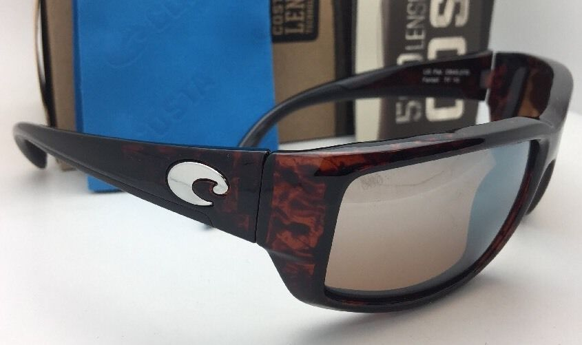 2b3967f70 Polarized COSTA Sunglasses FANTAIL TF 10 Tortoise Frame w/ 580 Silver Mirror