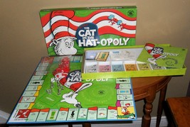 Dr. Seuss 2003 The Cat In The HAT-OPOLY Board Game~Complete - $38.00