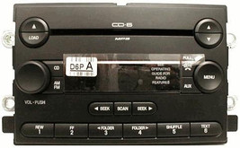 Taurus Sable CD6 MP3 SAT ready radio.OEM factory original 6 CD changer stereo GB - $170.17