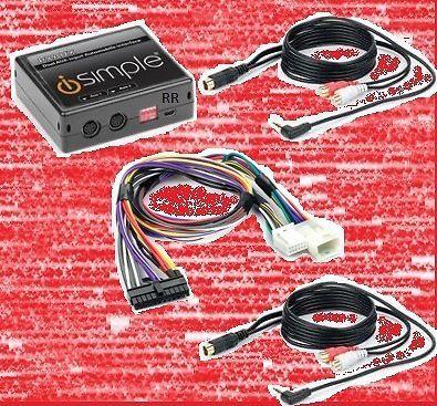 Lexus radio dual aux audio input adapter  and 44 similar items