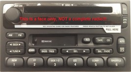 Villager CD Cassette radio FACE. Have worn stereo buttons? Solve it w/ this part - $17.17