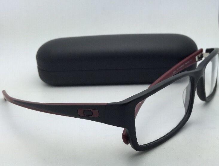 1026c9ae1be Brand New OAKLEY SERVO Eyeglasses OX 1066-0451 51-18 Black   Brick-