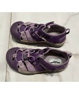 KEEN Youth Size 4 girls purple Hiking Trail Shoes - $22.41