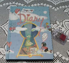 My Heart to Heart DIARY Journal With Pad Lock Blank Journal - $10.00