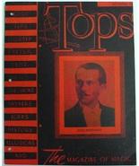 Tops September 1945 The Magazine of Magic Abbott's Magic Novelty Company... - $7.00