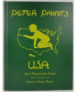 Peter Paints the USA by Jean Poindexter Colby 1948 - $7.99