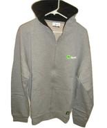 Spotify Hoodie Grey Gray Hoody Adult XL Zip Up ... - $32.00