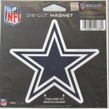 NFL NIB 4 INCH AUTO MAGNET - DALLAS COWBOYS - LOGO - STAR LOGO - €11,50 EUR