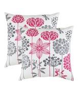 TreeWool, Supreme Soft Cotton Herringbone Fabric Blossom Accent Decorati... - $15.99