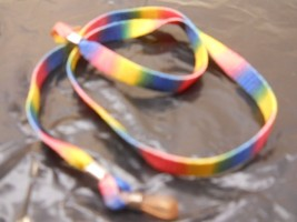 Sunglasses, Eyeglasses Strap Nylon Colorful Design Rainbow Colors - $9.99