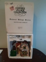 Dept 56 Booter and Cobbler 5924-2 Dickens Village Heritage Collection Ch... - $24.70