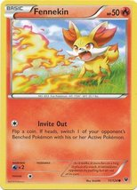 Pokemon - Fennekin (11/124) - XY Fates Collide - $0.80