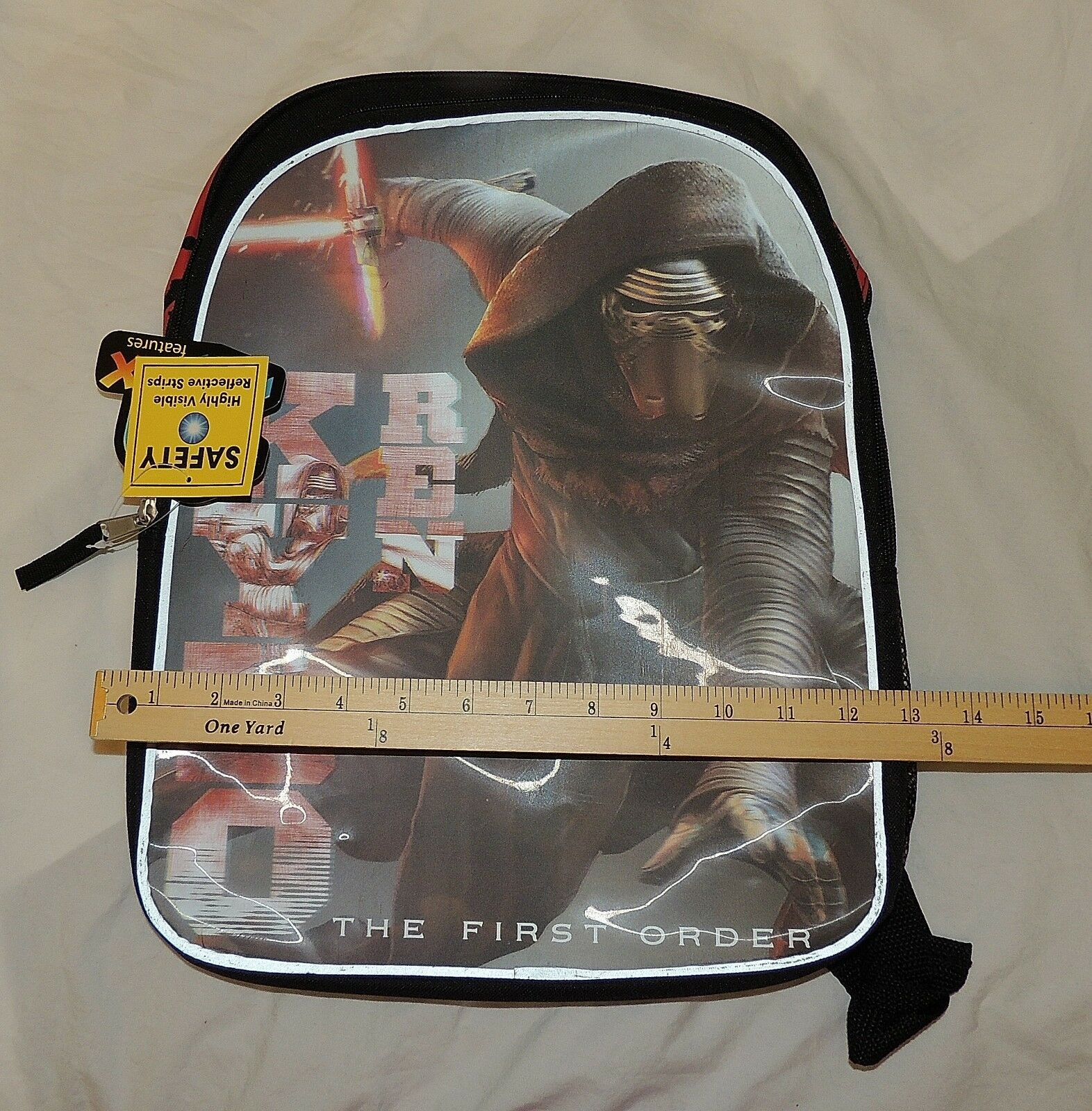 New Star Wars Last Jedi Kylo Ren Backpack Bookbag Disney Force Awakens 16""