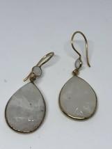 Vintage Genuine Moonstone 925 Sterling Silver Earrings - $75.50