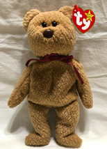 TY BEANIE BABY CURLY, BIRTH DATE 4/12/1996, P.V.C. STYLE 4180 - NEW OLD ... - $9.99