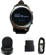 Samsung Galaxy Gear S3 classic Smart Watch 46mm Stainless Steel 4G LTE U... - $199.99