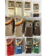 Large Lot Of 25 Vintage Caron Rug Yarn Latchook Cinnamon Winter White Packs - $29.99